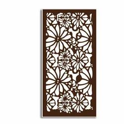 Black Cast Iron MDF Grill, For Window