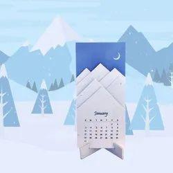 Plantable Seedpaper Eco-friendly Calendar 2021, For Promotion