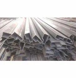 Mild Steel Galvanized Ms Pipe Single Doors, Thickness: 10 Mm