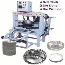 Hydraulic Thali Dona Plate Making Machine