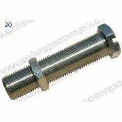 Full Thread Brass Fastener Bolts, Size: M18