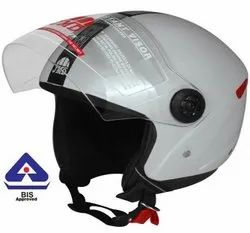 Grey Grand Half Face Helmet