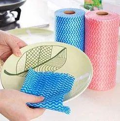 Multicolor Reusable Kitchen Napkin Roll
