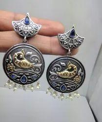 Fish Design Round Earrings