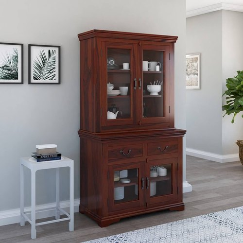 Furniture Boutiq Aflon Rustic Solid, Dining Room Hutch