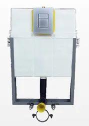 PURE FLOW Ivory Half Frame for concealed Flushing Cistern, For Toilet, Model Name/Number: 150-SQF