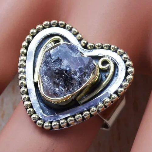 Amethyst Mini Ring Gemstone Fine Handmade 925 Sterling Silver Ring Multiple Size
