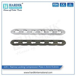 Narrow Locking Compression Plate 4.5mm/5.0mm