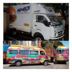 Offline Flex Van Outdoor Advertising Services