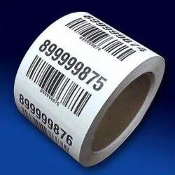 Printed Barcode Label