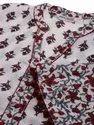 Jaipur Kurti White Printed Flared Cotton Dress