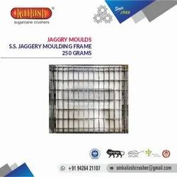 OM KAILASH STAINLESS STEEL JAGGERY MOULDS 250 GRAMS
