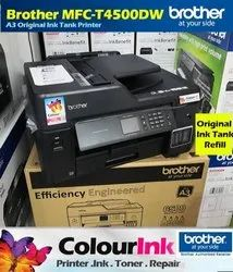 Brother MFC T4500DW A3 Ink Tank Printer