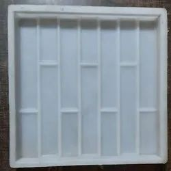 Silicone Plastic Brick Design Tile Mould