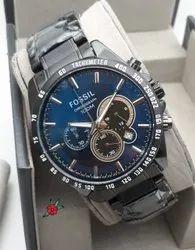 Fossil Round Mens Wrist Watch