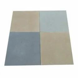 Yellow and Grey Sedam Leather Finish Stone, Thickness: 15 mm, Size: 23 X 23 Inches