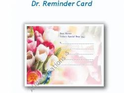 Paper Reminder Card Printing Services
