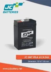 VRLA 6V 4.5Ah Battery
