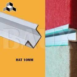T-Profile Aluminium Hat Section Profile, For Industrial
