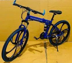BLUE PORSCHE FOLDABLE CYCLE