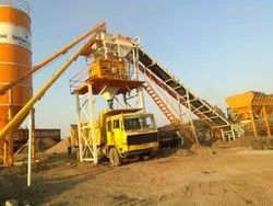 GEPL Fully Automatic Ready Mix Concrete Batching Plant With Twin Shaft Mixer, Model Name/Number: Sih - 60 (t)