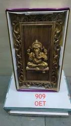 Golden Acrylic Lord Ganesha Photo Frame