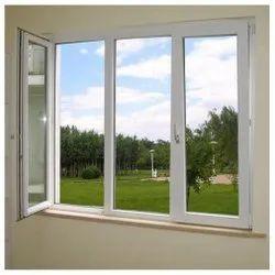 UPVC Casement Windows, Glass Thickness: 6 Mm