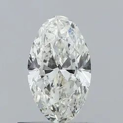 0.50ct Oval I SI2 GIA Certified Natural Diamond