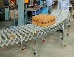 Plastic Roller Curve Conveyor