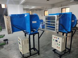 Hot Air Tube Axial Fan With Control Panel