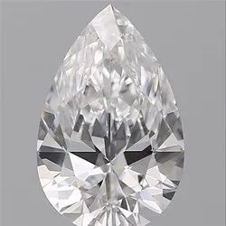 Pear 0.76 d VS1 GIA Certified Natural Diamond