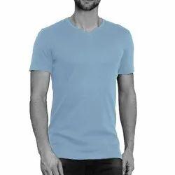 100% Cotton V Neck  T Shirt