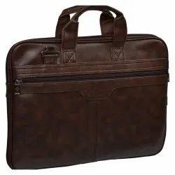 Plain Office Leather Bag