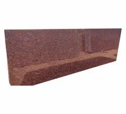 Imperial Red Granite Slab, Thickness: 18 mm