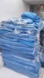 Plain 55 Inch Polyester Cotton School Uniform Fabric