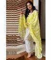 Stitched Palazzo Ladies Traditional Punjabi Suits, Handwash