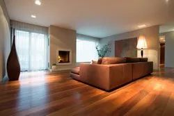 Matte Laminated Wooden Flooring, Thickness: 8 Mm