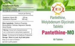 Pantethine,Molybdenum Glycinate Tablets
