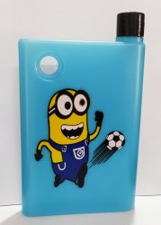 Memo Notebook Portable Water Bottle