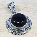 Rainbow Moonstone Gemstone 925 Sterling Silver Jewelry Fine Pendant