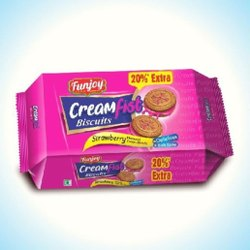80gm Strawberry Creamfist Biscuits