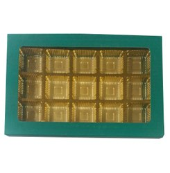 Kapaboard Printed Window Chocolate Cavity Box, Box Capacity: 500 gm, Size: 8 X 10 Inches