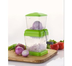 Green Plastic PP-074 Onion Chopper, For Kitchen
