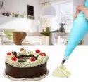 12 Piece Cake Decorating Set Frosting Icing Piping Bag Tips With Steel Nozzles. Reusable & Washable