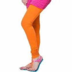 Cotton Lycra Plain Ladies Churidar Legging