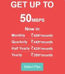 Broadband 50 Mbps Internet Plan