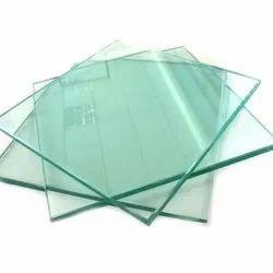 Transparent 5 MM Plain Glass, Size: 4*4 Feet (L*B), Shape: Square
