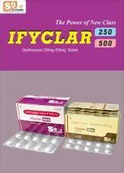 Clarithromycin Tablets 500 Mg