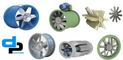 Axial Fan 600mm