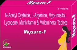 Female My Sure F Tablet, Packaging Type: Box